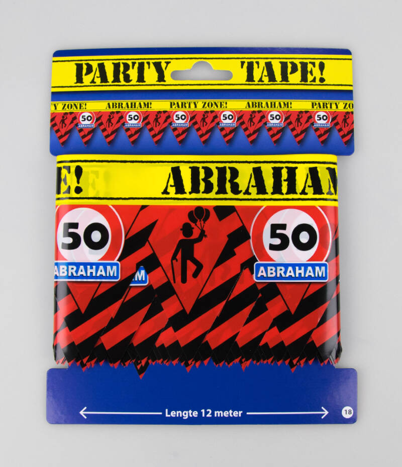 Party Tape - Feest Lint - Abraham
