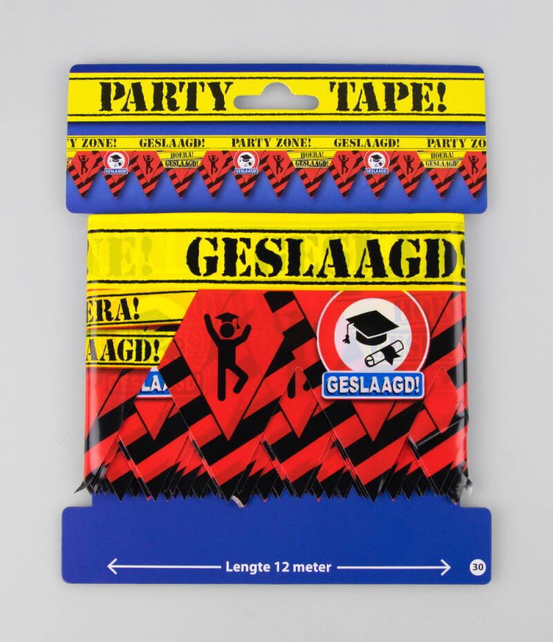 Party Tape - Feest Lint - Geslaagd