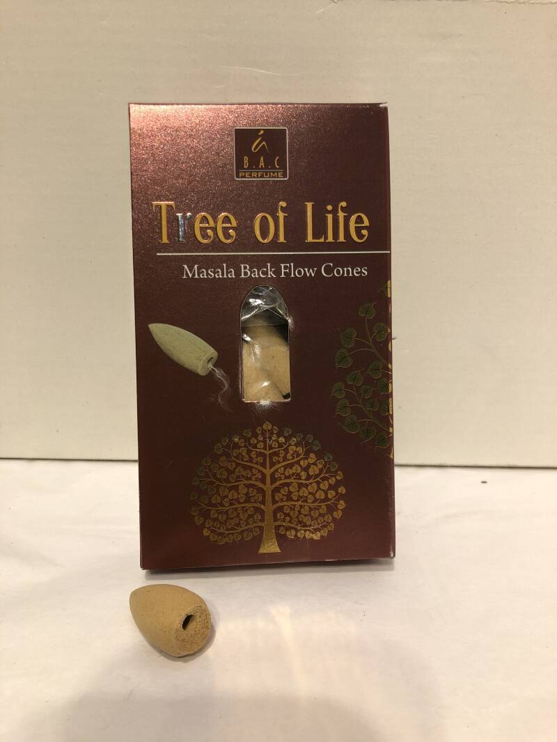 Back flow cones Tree of Life 10 st