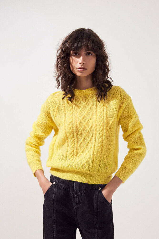 Piafi knit yellow