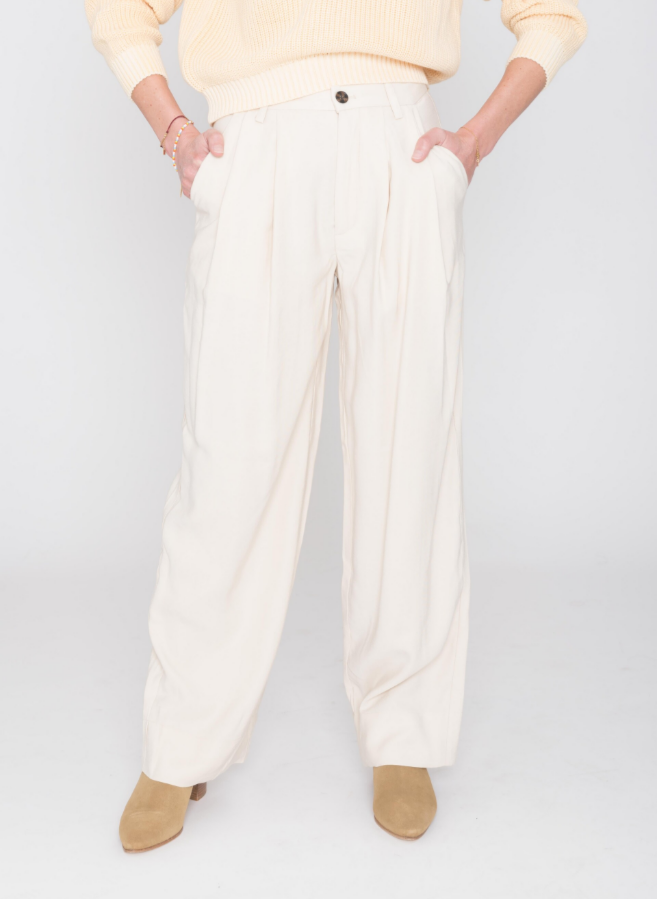 danny trousers white