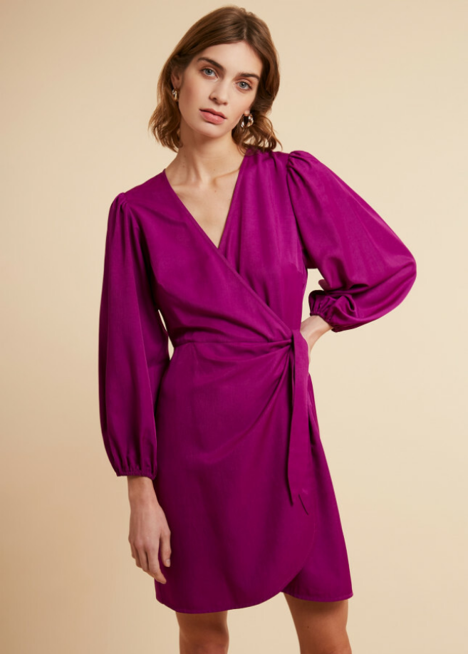 abdon dress purple