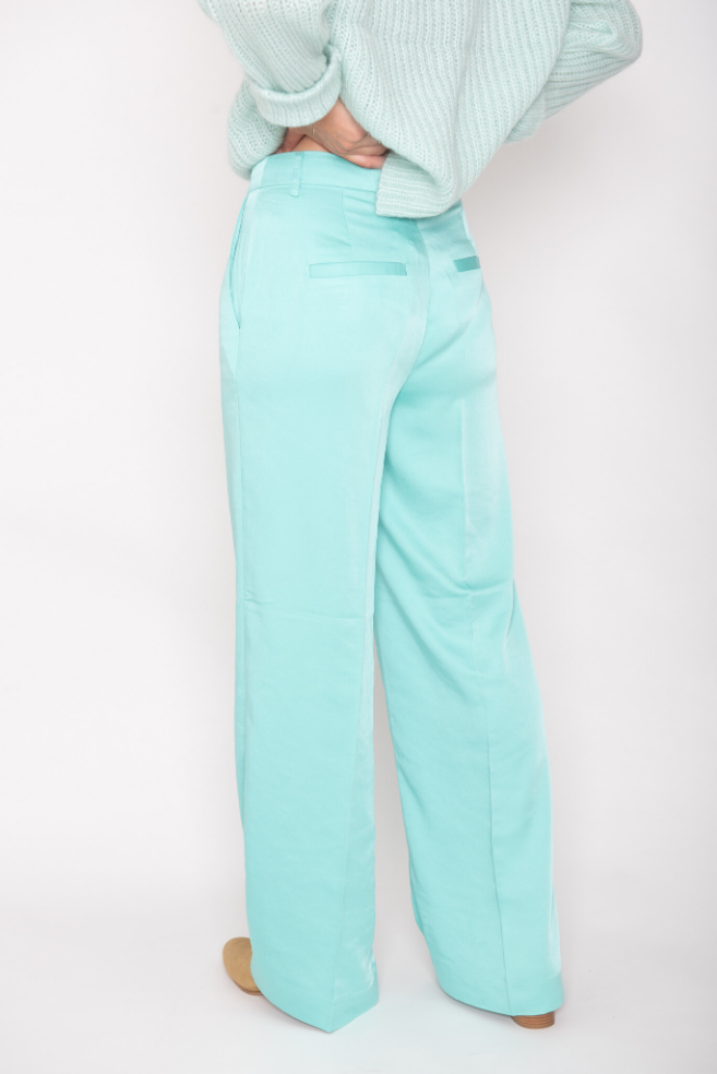 leora pants mint