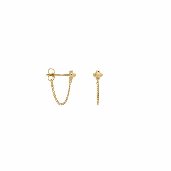 marin studs goldplated (pair)