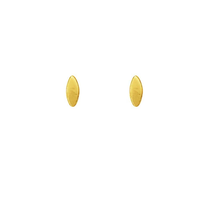 stud marquise gold (pair)
