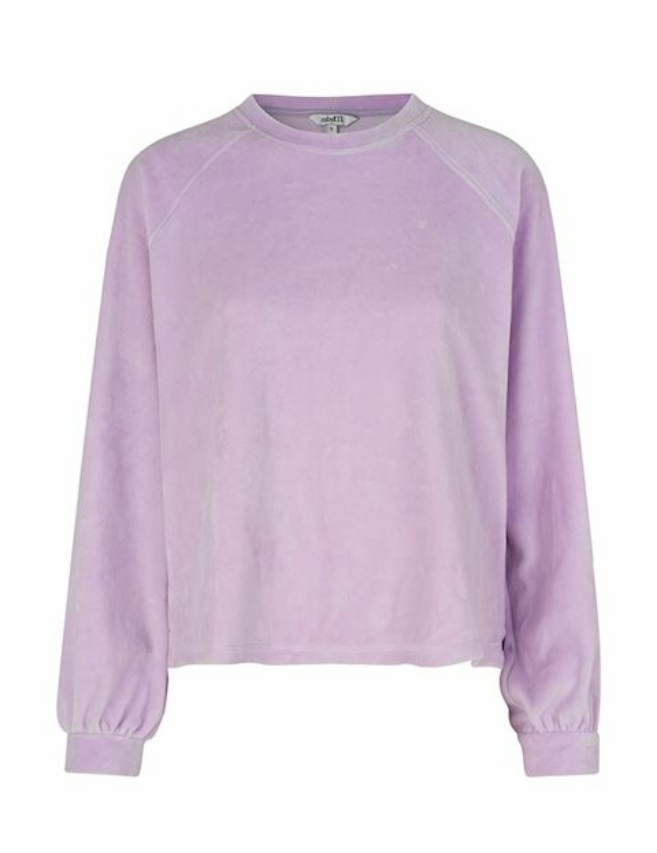 Roo sweater velours lila