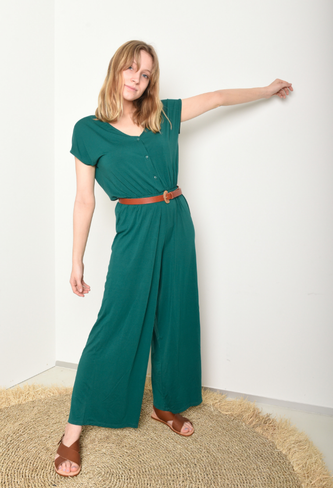 jumpsuit kadoum green