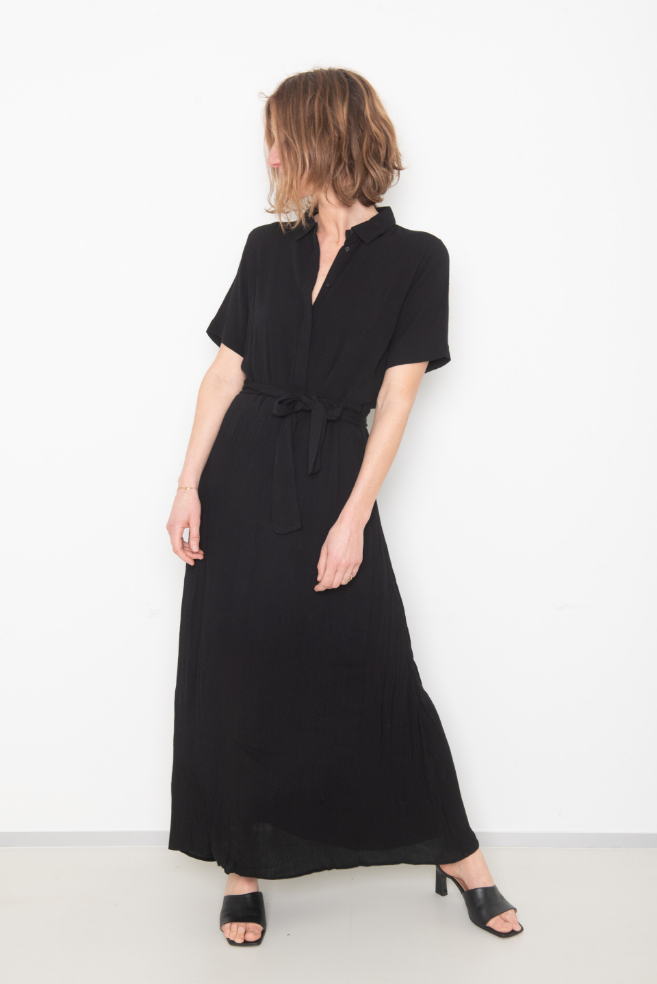 liz dress black