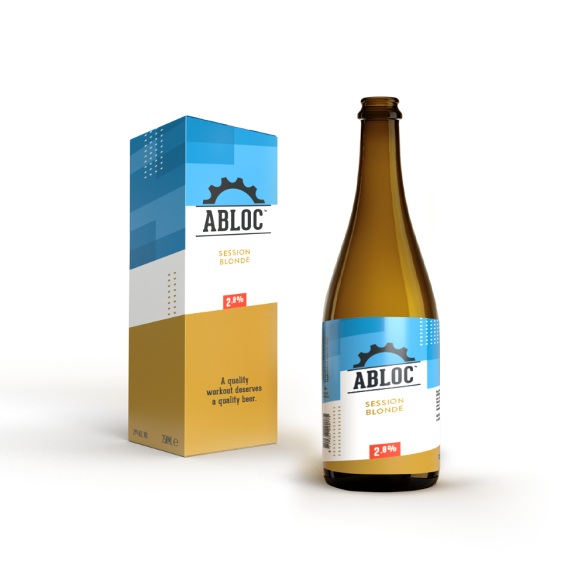 ABLOC 75cl tafelfles Session Blonde 2,8%