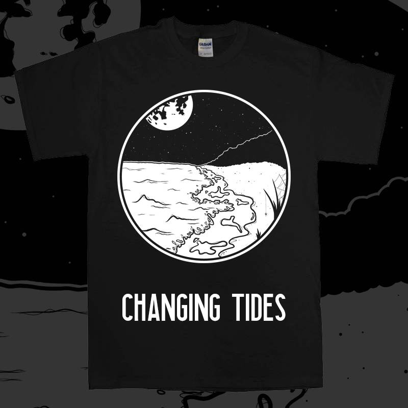 Shirt Changing Tides logo