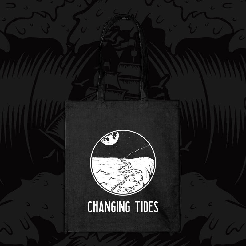 Tote Bag Changing Tides logo