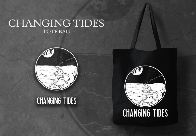 TOTE BAG CHANGING TIDES ICON