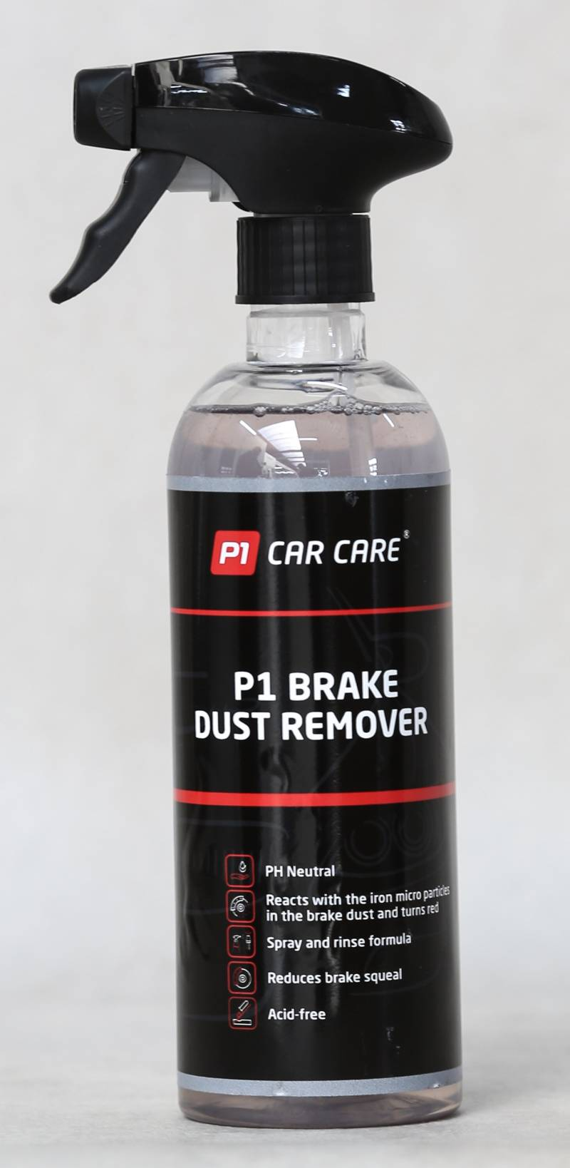 P1 Car Care Brake Dust Remover, 1 x 500ml