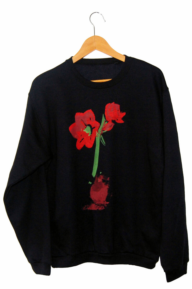 Sweater -Amaryllis-, Navy Blue. Maat M.