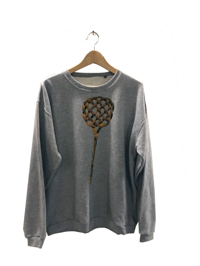Sweater - Mattenklopper-, Heather Grey. Maat XL