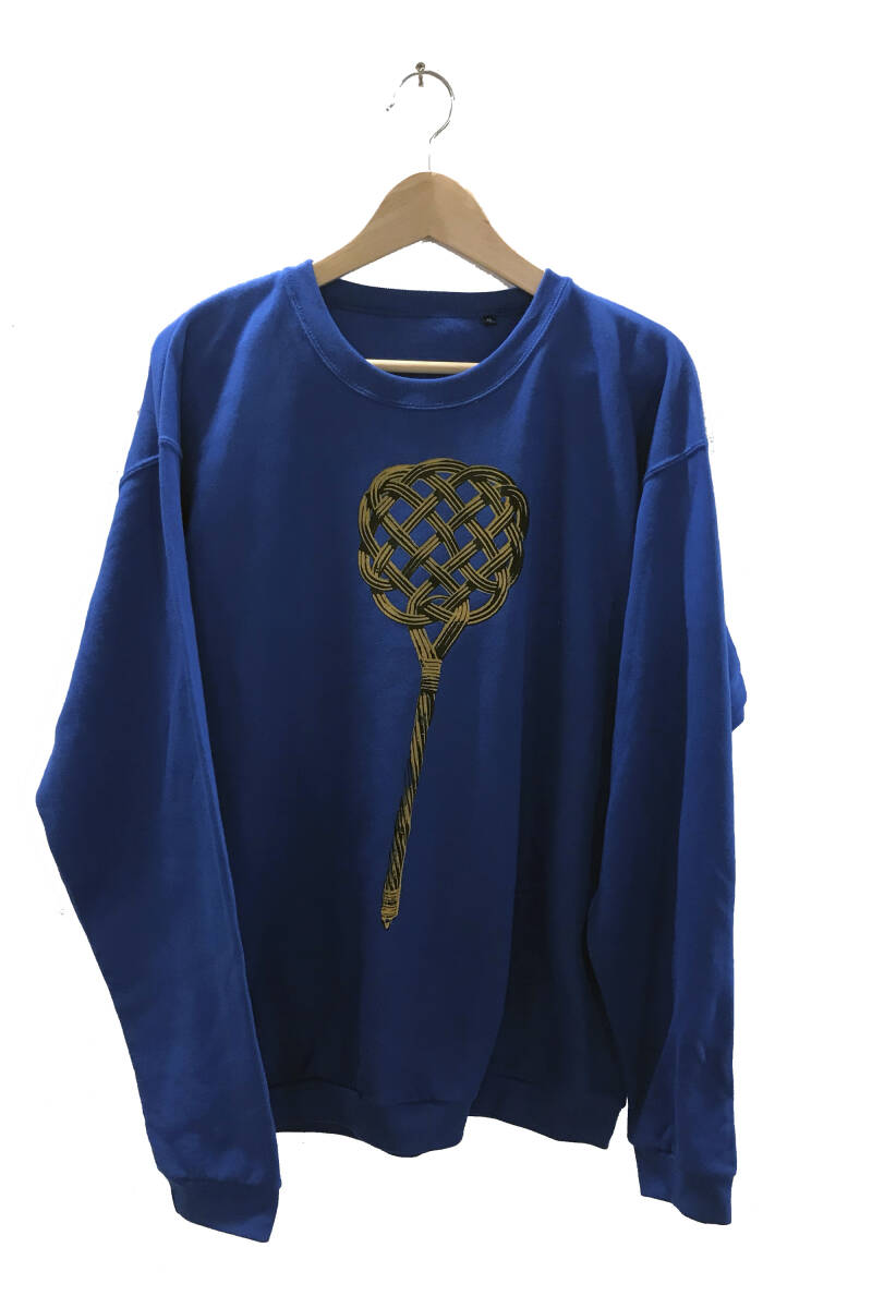Sweater -Mattenklopper- Royal Blue, Maat XL