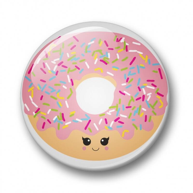 Button: donut (32mm)