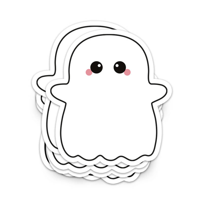 Sticker: spookje