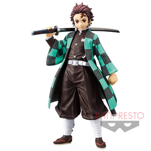Demon Slayer - Kimetsu no Yaiba: Tanjiro Kamado - blue haori version - Banpresto