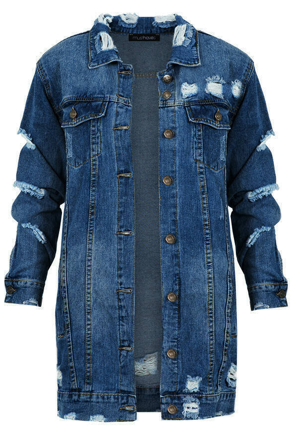 LONG DENIM JACKET 3.0