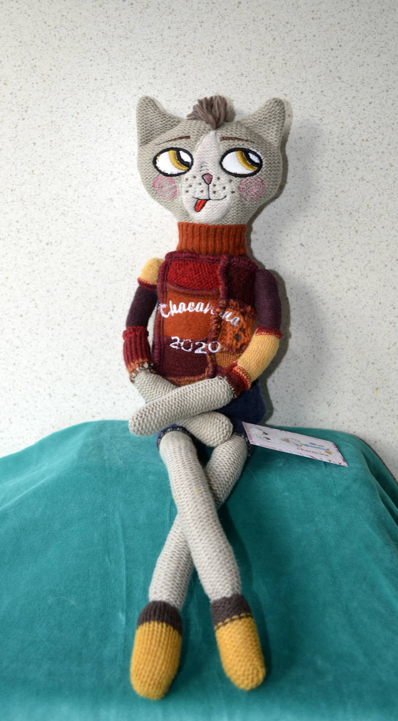 ChacaNina Cat Doll 'LUPIN'