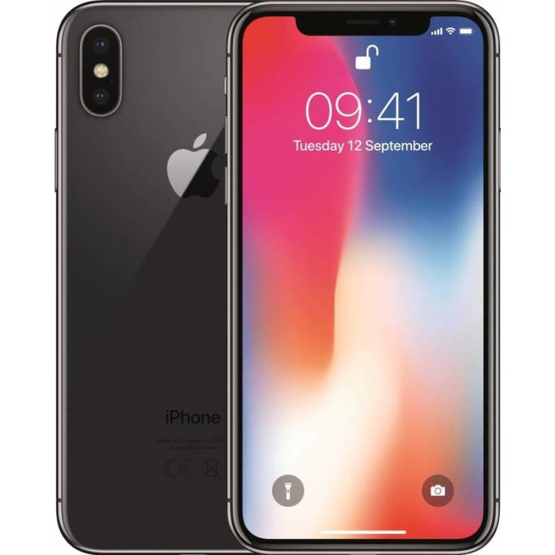 Phone x space gray