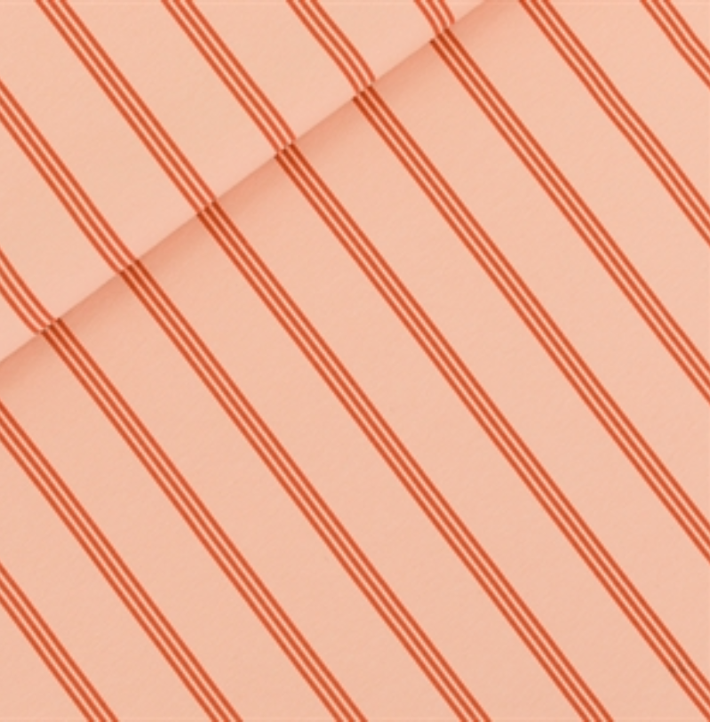 Three lines - french Terry - evening pink - see you at six
