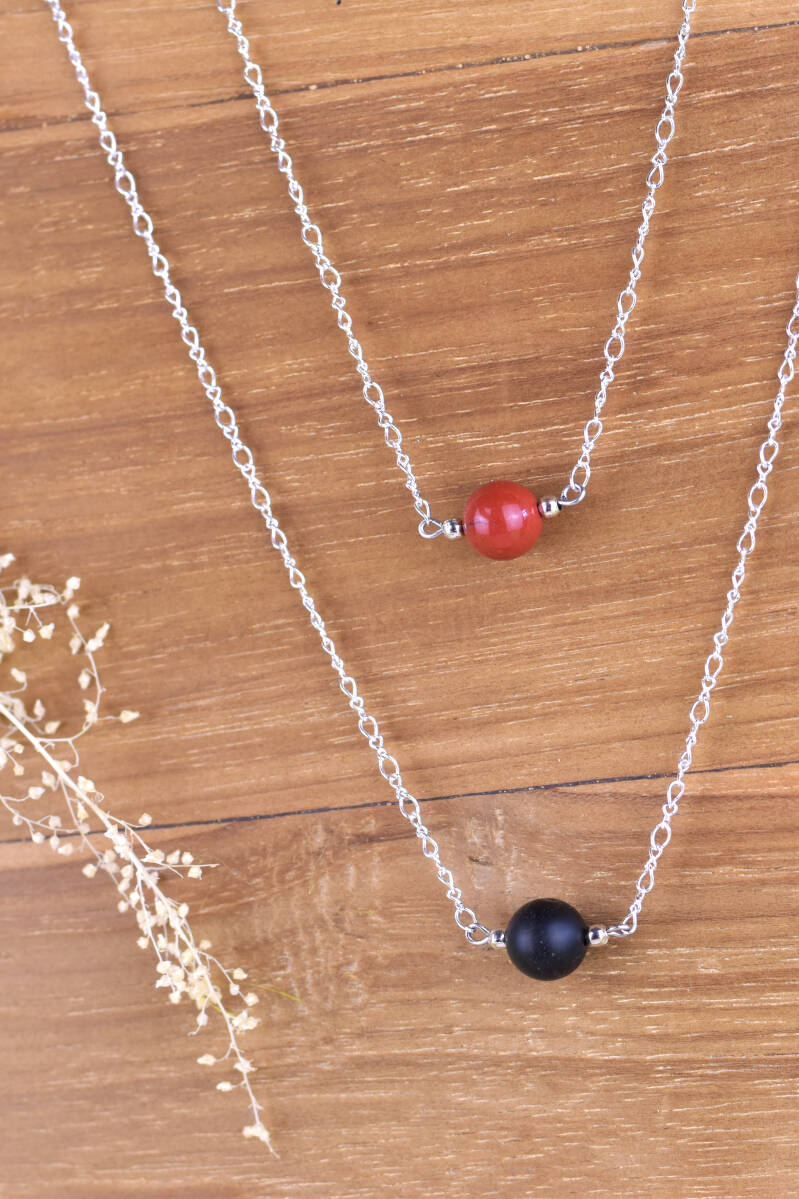 Ketting Classy Red // Black