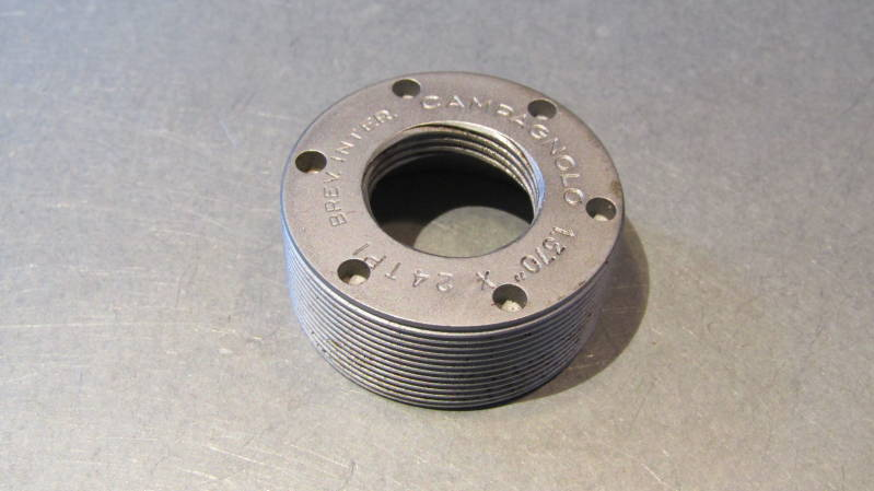 CAMPAGNOLO NUOVO RECORD THICK Bottom Bracket Adjustable Cup ENGLISH THREAD 1,370X24 TPI BXC00D29*