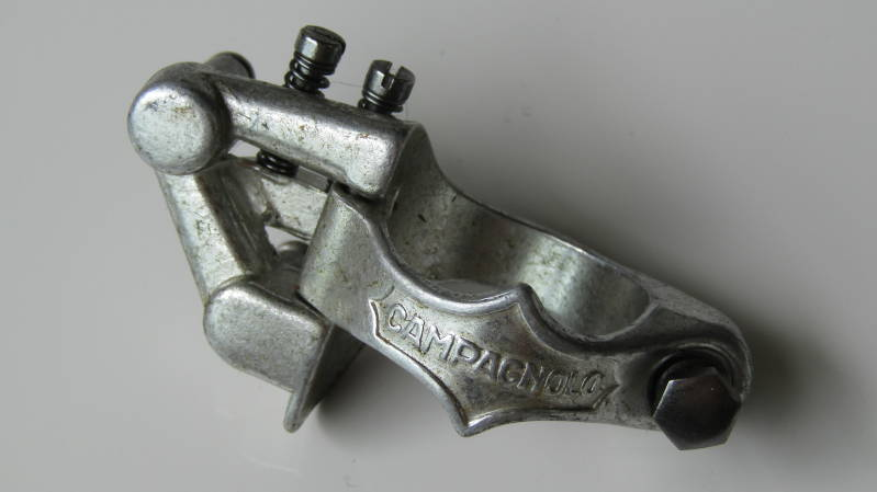 **CAMPAGNOLO NUOVO/SUPER RECORD Clamp-on Derailleur Body 28.6 NOS! BXC00G27 555 - 9/7/20 RK09