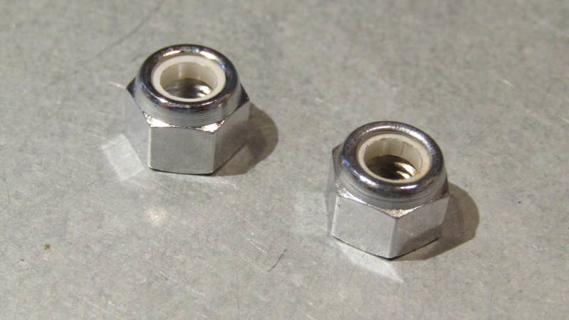 CAMPAGNOLO NUOVO RECORD CHROME STEEL Brake Caliper Fixing Nuts 2X NOS BXC00H7 77 - 3/14/20 RK02