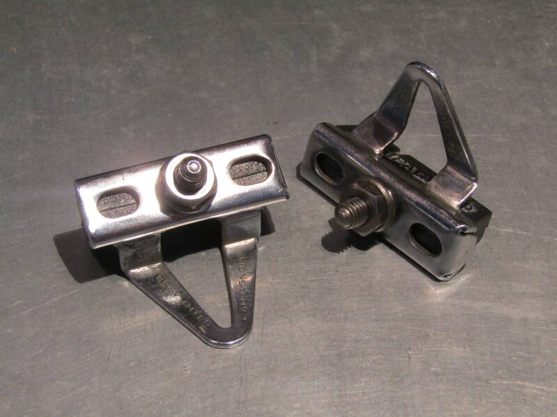 CAMPAGNOLO VICTORY Brake pad holders with ORIGINAL CAMPAGNOLO Brake blocks TL08 04-B02-002-04 4/27/21