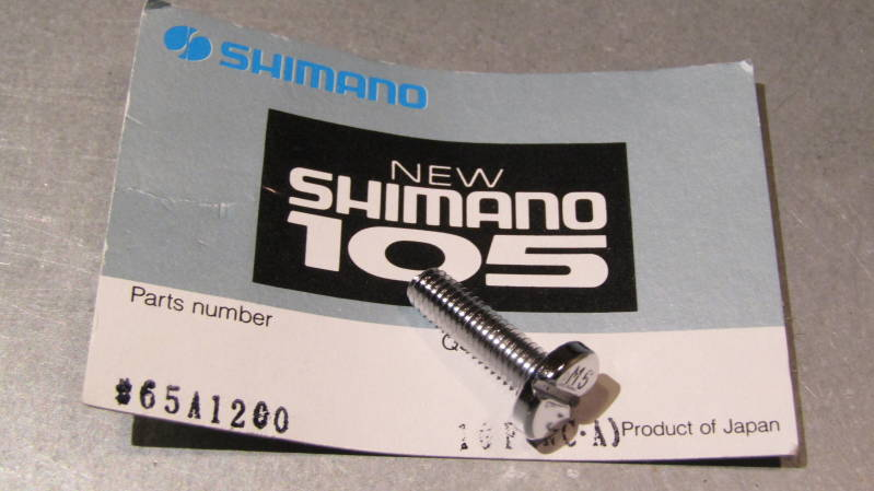 *SHIMANO 105 Right side gear lever fixing bolt NOS! BXC00F8*