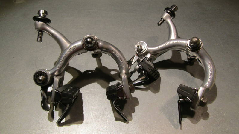 *CAMPAGNOLO NUOVO RECORD NORMAL Reach Brake Calipers Standard Bolt mounting Rebuilts SC3*