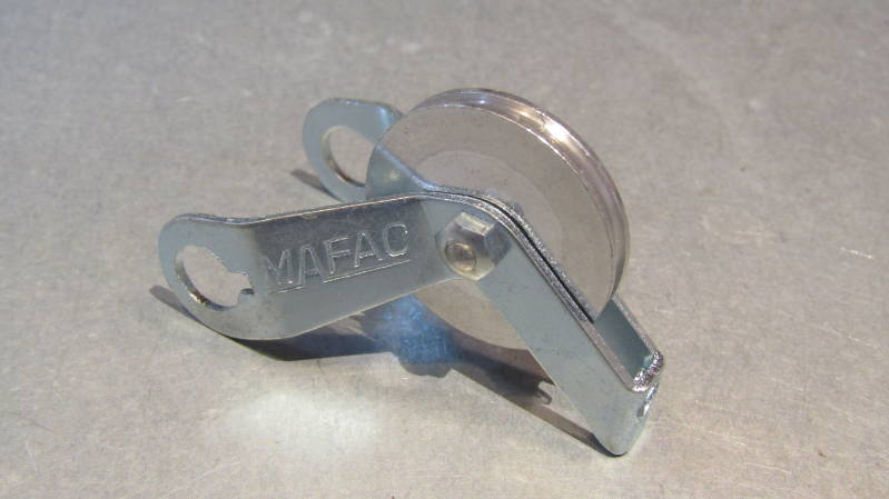 MAFAC Rear Cable Hanger, with roller NOS! BXC00D11