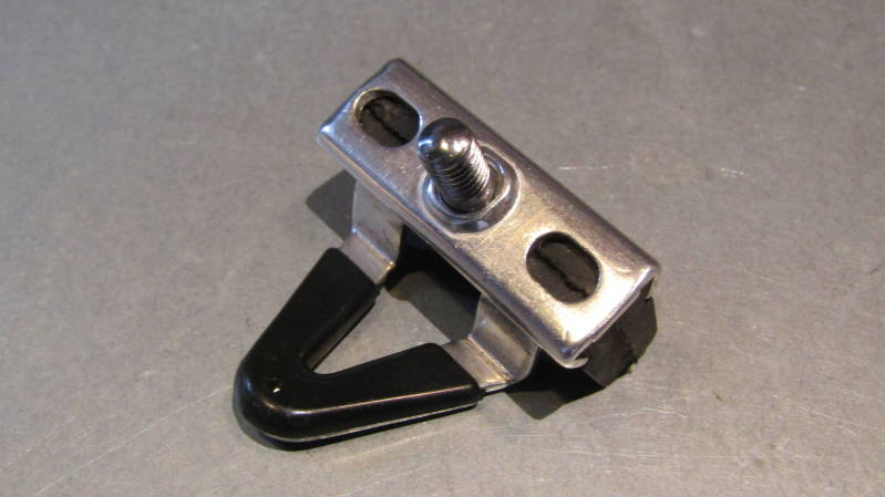 CAMPAGNOLO SUPER RECORD Left side ALLOY Brake Block Holder And pad NOS! BXC00D10*
