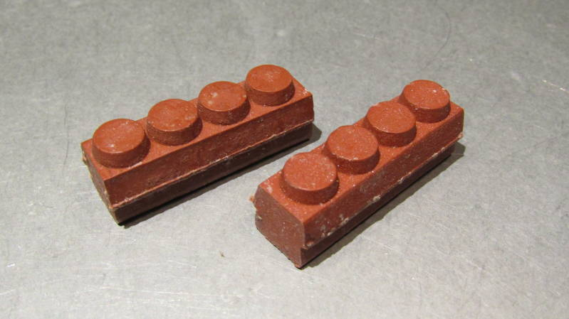 ALTENBURGER Vintage 70's Brake Blocks RED NOS! BX43*