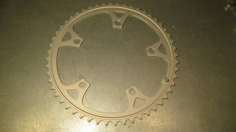 SHIMANO 105 Type 52t ROAD (ROUND) Chainwheel BCD 130mm NOS! BXC00F27*