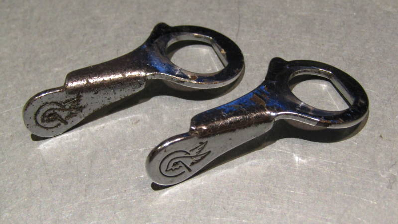 CAMPAGNOLO NUOVO RECORD Brake Caliper FLAT QR Levers 2nd Hand BX45a*