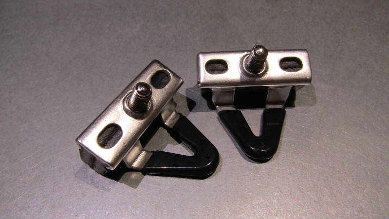 CAMPAGNOLO SUPER RECORD Brake Block and ALLOY Holders NOS! BX48a