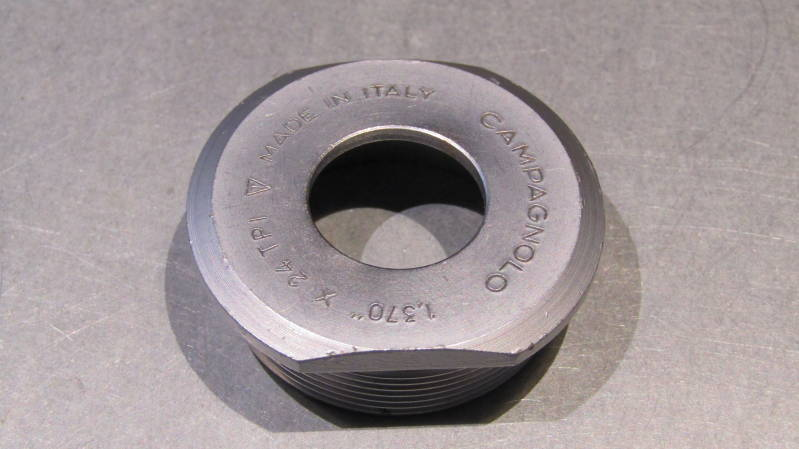 CAMPAGNOLO NUOVO RECORD / GRAN SPORT Thin Bottom Bracket Fixed cup NOS! BB34a