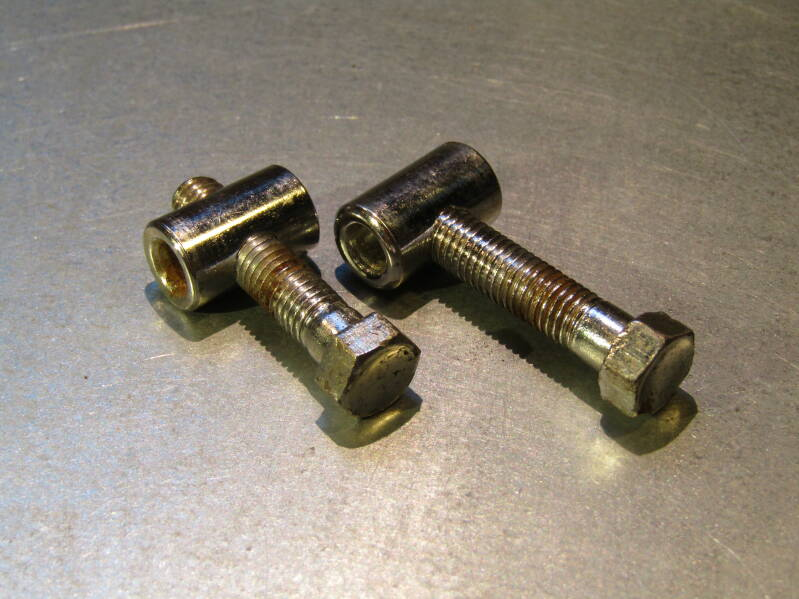 CAMPAGNOLO NUOVO RECORD ERA Seat post bolts and nuts 2nd hand TL05 01-B01-C04-05