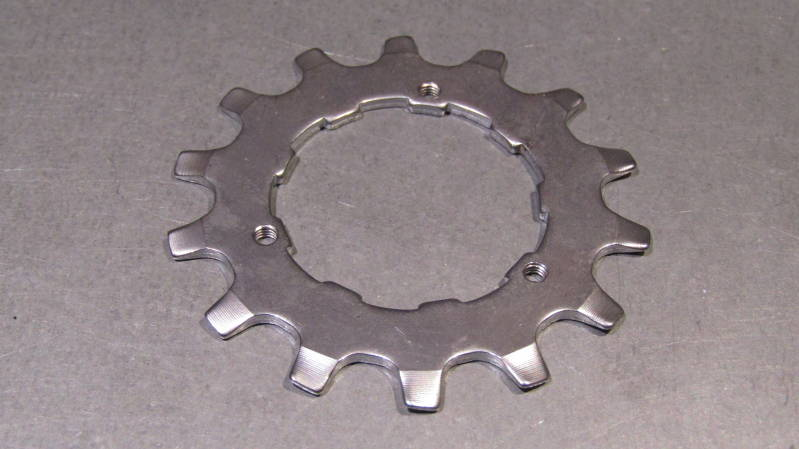 SHIMANO SANTE Type 14t UNIGLIDE Cassette Cog with threaded keeper screw holes NOS! BXC00C15 505 - 6/11/20 RK07