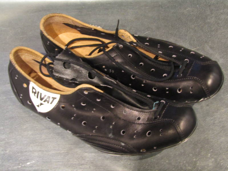 RIVAT OLD SCHOOL All Leather cycling shoes size 39 BX56 55 - 1//20/20 RK12