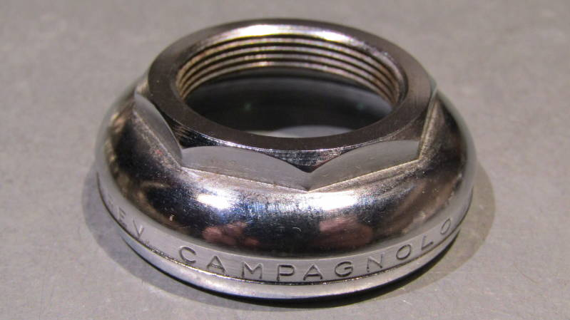 CAMPAGNOLO NUOVO RECORD Headset upper Adjustable bearing race ITALIAN Thread 25.4X24F NOS! BXCC0023