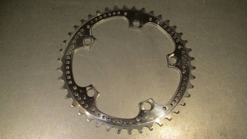 ZEUS SUPER CRONOS/2000 42t DRILLED Chain wheel NOS! BXCC0024