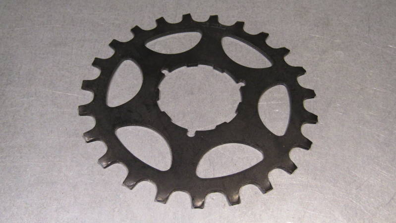 SHIMANO EARLY 600 FREEHUB/UNIGLIDE 23t Cassette Cog BLACK NOS! BXCC0028