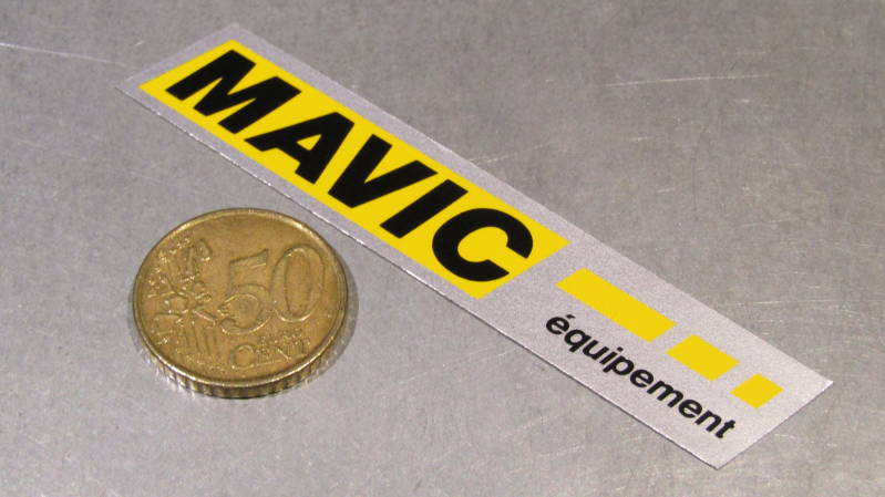 MAVIC Frame Sticker NOS! BXC00C31