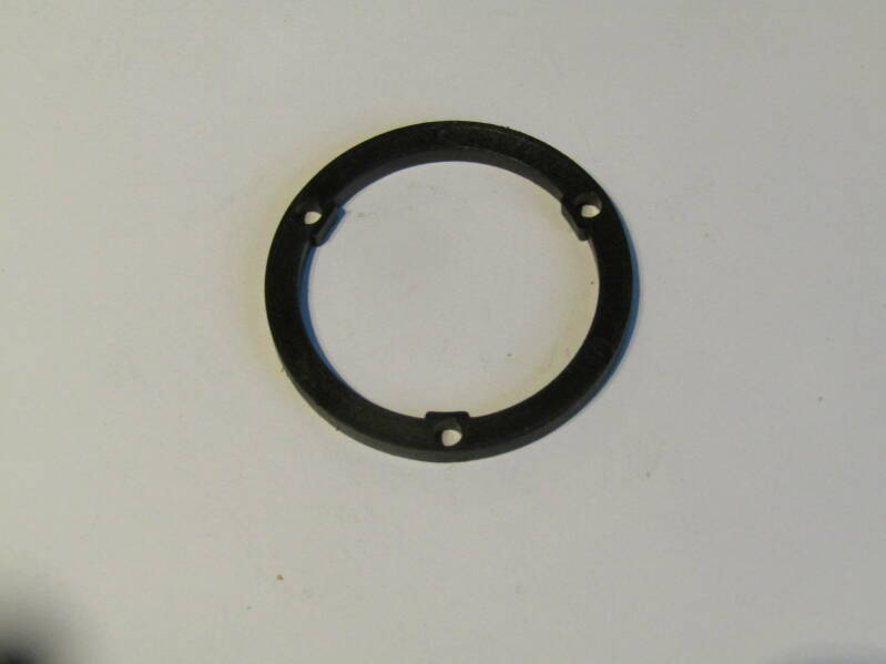 SHIMANO Type 5/6sp BLACK UNIGLIDE spacer with tab NOS! BOR12 002-01 6/5/21