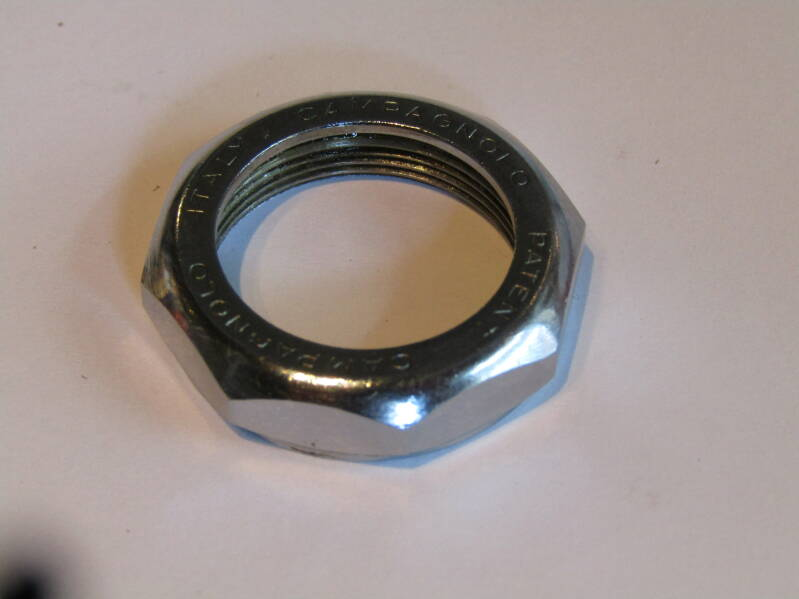 CAMPAGNOLO NUOVO RECORD ENGLISH Thread Headset LOCK-NUT 2nd hand